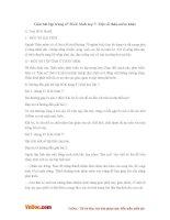 Giải bài tập trang 67 SGK Sinh lớp 7: Một số thân mềm khác