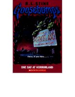 16   one day at horrorland