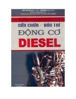 Sửa chữa bảo trì động cơ diesel tập 1