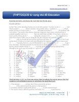 Từ vựng theo chủ điểm education level b (2)