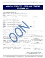 tài liệu hóa   este lipit (1)