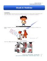 Từ vựng theo chủ điểm health medicine