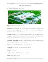Báo cáo thực tập tốt nghiệp kỹ thuật ô tô Công ty Honda Việt Nam