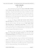 Báo cáo thực tập tốt nghiệp kỹ thuật oto CTY TNHH MỘT THÀNH VIÊN TOYOTA PHÚ MỸ HƯNG