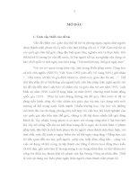 LUẬN văn THẠC sĩ   áp DỤNG các BIỆN PHÁP NGĂN CHẶN đối với NGƯỜI CHƯA THÀNH NIÊN tội PHẠM TRÊN địa bàn TỈNH hà tây của cơ QUAN CẢNH sát điều TRA