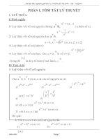 Bài tập trắc nghiệm Mũ và Logarit (có đáp án) (Phần 1: Tóm tắt lý thuyết, Phần 2: Bài tập trắc nghiệm)