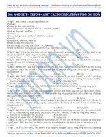 21  phương pháp giải bài tập về phản ứng oxi hoá anđehit   axit