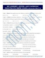 22  phản ứng của nhóm  COOH (phần 1+2)