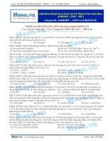 21  thi online PP giải bài tập về phản ứng oxi hoá anđehit   axit