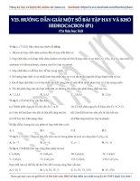 14  hướng dẫn giải một số bài tập hay và khó hiđrocacbon (p2)