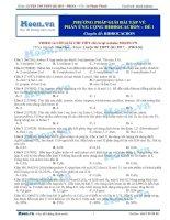11  thi online   PP giải bài tập về phản ứng cộng hidrocacbon đề 1