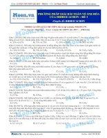12  thi online   PP giải bài toán về oxi hóa của hidrocacbon   đề 1
