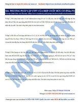 02  phương pháp lập CTPT của HCHC (phần 4)