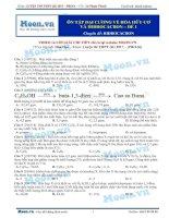 13  thi online   ôn tập đại cương về hóa học hữu cơ và hiđrocacbon   đề 1