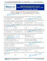 14  thi online phương pháp giải bài tập về phản ứng tách nước của ancol   đề 1