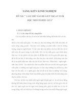 LÀM THẾ nào để GIÚP TRẺ 4 5 TUỔI học THƠ có HIỆU QUẢ