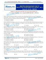14  thi online phương pháp giải bài tập về phản ứng tách nước của ancol   đề 2