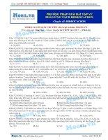 10  thi online   PP giải bài tập về phản ứng tách hidrocacbon