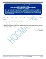 2015Bai 1  dap an ly thuyet trong tam ve ancol phenol TB