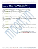 20  lý thuyết trọng tâm về anđehit   axit (phần 3)