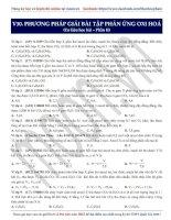 17  ancol phản ứng oxi hoá (phần 2)