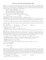 Tổng hợp một số câu trong đề thi thử hóa 2017 (9)
