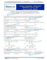 12  thi online ancol   danh pháp   đồng phân – tính chất vật lí
