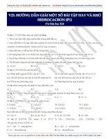 14  hướng dẫn giải một số bài tập hay và khó hiđrocacbon (p1)