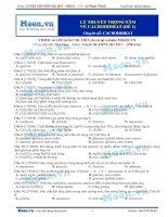 2017 pros kiểm tra lý thuyết trọng tâm cacbohidrat