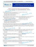 02  thi online   phương pháp lập CTPT của HCHC   đề 1