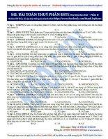 26  bài toán thủy phân este (phần 1)