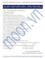 03  hiện tượng đồng đẳng   đồng phân (phần 1)