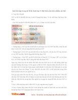 Giải bài tập trang 66 SGK Sinh lớp 9: Đột biến cấu trúc nhiễm sắc thể