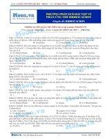 09  thi online   PP giải bài tập về phản ứng thế hidrocacbon