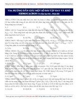 14  hướng dẫn giải một số bài tập hay và khó hiđrocacbon (p3)