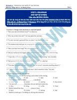 Tài liệu bài giảng tiếng anh lớp 12  hocmai (1)