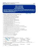 Tài liệu bài giảng tiếng anh lớp 12  hocmai (7)