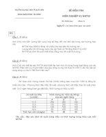 Tài liệu ôn tập và kiểm tra môn ngân hàng trung ương phần (1)