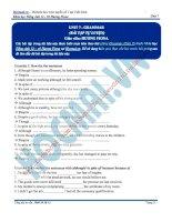 Tài liệu bài giảng tiếng anh lớp 12  hocmai (23)