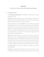 Tài liệu mua bán sáp nhập (1)