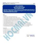 Tài liệu bài giảng tiếng anh lớp 12  hocmai (2)