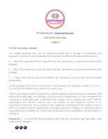 Tổng hợp tài liệu thi vào ngân hàng (19)