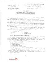 Văn bản quy phạm pháp luật về ngân hàng thương mại (6)