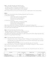 Bài giảng ngân hàng thương mại và các tình huống (1)