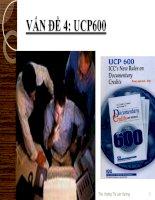 Vấn đề 4 UCP600 môn thanh toán quốc tế