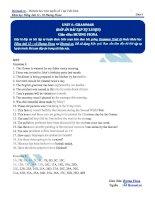 Tài liệu bài giảng tiếng anh lớp 12  hocmai (8)
