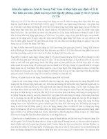 Khuyến nghị của ey về QD457