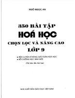 350 bài tập hóa học 9