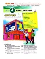 Tiếng Anh lớp 7 Chương trình mới Unit 4: Music and Arts