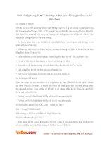 Giải bài tập trang 71 SGK Sinh lớp 9: Đột biến số lượng nhiễm sắc thể (tiếp theo)